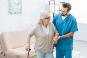 In-home care with long term care insurance